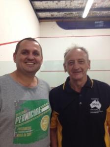 2014 Australian Open C Grade Plate Winners John Broz & John Broadway