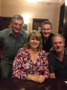 Rob, Daryl, Robyn & Maurice