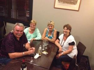 Russell, Julienne, Fay & Pauline